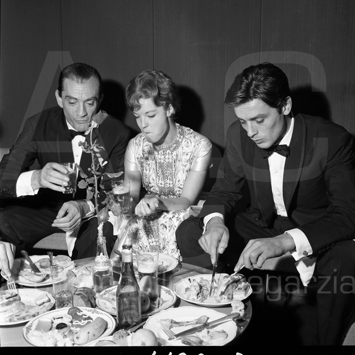 luchino visconti, Romy Schneideralain delon