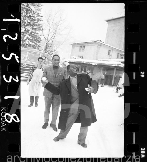 louis armstrong005 W gstaad 8:1:1961
